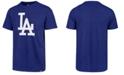 '47 Brand Men's Los Angeles Dodgers Club Logo T-Shirt