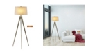 """Artiva USA Hollywood 63"""" LED Tripod Floor Lamp with Dimmer"""