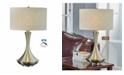 "Artiva USA Aladdin 28.5"" LED Compact Fluorescent Table Lamp with Tan Shade"