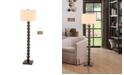 "Artiva USA Cosimo 61"" Steel Ball LED Floor Lamp with Dimmer"