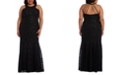 Morgan & Company Trendy Plus Size Allover-Lace Gown