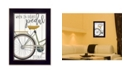 "Trendy Decor 4U When In Doubt By Marla Rae, Printed Wall Art, Ready to hang, Black Frame, 14"" x 20"""