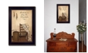 """Trendy Decor 4U These Three Remain By SUSAn Boyer, Printed Wall Art, Ready to hang, Black Frame, 14"""" x 20"""""""