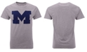 New Agenda Men's Michigan Wolverines Big Logo T-Shirt