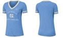 Nike Women's North Carolina Tar Heels Slub Fan V-Neck T-Shirt