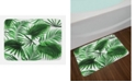 Ambesonne Palm Leaf Bath Mat