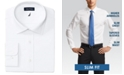 Nautica Men's Slim-Fit Comfort Stretch White Solid Dress Shirt