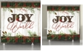 Laural Home Holiday Joy Shower Curtain