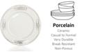 Mikasa Dinnerware, Cameo Platinum Accent Plate