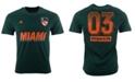 adidas Men's Miami Hurricanes Creator T-Shirt