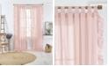 "Elrene Bella 52"" x 84"" Sheer Ruffle Curtain Panel"