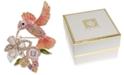Anne Klein Gold-Tone Multicolor Crystal Hummingbird Pin
