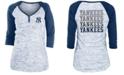 5th & Ocean New York Yankees Women's Space Dye Raglan Shirt