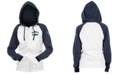 5th & Ocean Seattle Mariners Women's Zip-Up Contrast Hoodie