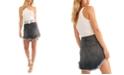 Free People Bailey Solid Denim Mini Skirt