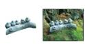 Campania International Birds on A Log Garden Statue