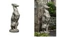 Campania International Greyhound Garden Statue