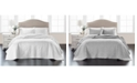 Martha Stewart Collection Embroidered Silky Satin Bedspread Full   , Created for Macy's