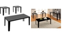 Furniture of America Johnsey 3-Piece Coffee Table Set
