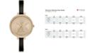 Michael Kors Women's Jaryn Three-Hand Gold-Tone Stainless Steel Watch 36mm