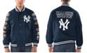 G-III Sports Men's New York Yankees Game Ball Commemorative Jacket