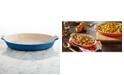 "Le Creuset Heritage Stoneware 14"" Au Gratin Dish"