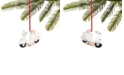 """Holiday Lane 2020 """"Just Married"""" Moped Ornament, Created for Macy's"""