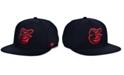 '47 Brand Baltimore Orioles Bright Red Shot Snapback Cap