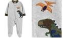 Carter's Baby Boy  Dinosaur Zip-Up Fleece Sleep & Play