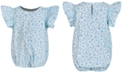 First Impressions Baby Girls Ruffled Cotton Bodysuit, Created for Macy's