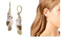 Betsey Johnson Parrot Drop Earrings