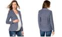 A Pea in the Pod Striped Maternity Blazer