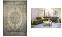 "JHB Design Tidewater Medallion Ivory/Grey 3'10"" x 5'5"" Area Rug"