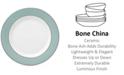 Lenox Brian Gluckstein by Clara Aqua  Bone China Butter Plate