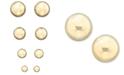 Macy's 14k Yellow Gold Ball Stud Earrings (4 - 10mm)