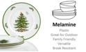 Spode CLOSEOUT! Christmas Tree Melamine Dinner Plate, Set of 4