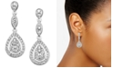 Eliot Danori Raindrop Crystal Earrings, Created for Macy's