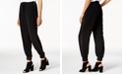 Bar III Contrast-Trim Jogger Pants, Created for Macy's