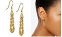 Macy's Rope Chain Drop Earrings in 10k Gold