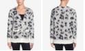 Catherine Malandrino Russe Printed Mohair Sweater