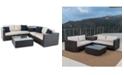 Furniture Cambridge Outdoor 6-Pc. Sofa Set, Quick Ship