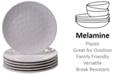 Certified International CLOSEOUT! 6-Pc. Cream Melamine Salad Plate Set