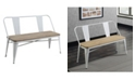 Furniture of America Letron Dining Bench