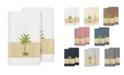 Linum Home Colton 2-Pc. Embellished Bath Towel Set