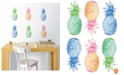 Brewster Home Fashions Pop Pineapples Wall Art Kit