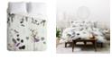 Deny Designs Iveta Abolina Woodland Dream Twin Duvet Set