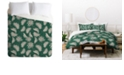 Deny Designs Holli Zollinger Urban Jungle Palm Queen Duvet Set