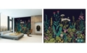 Brewster Home Fashions Botanical Fleur Wall Mural