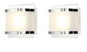 ELK Lighting Bandeay 1 Light LED Opal Glass Chrome Finish