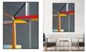"Melissa Van Hise Locus Framed Canvas Wall Art - 31"" x 41"" x 2"""